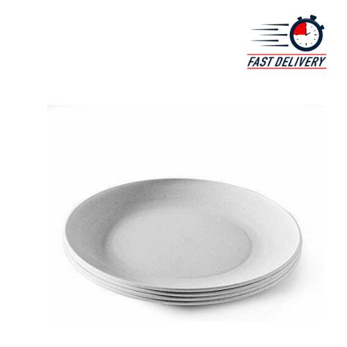 nordic ware 60070fs 10 white microwave safe dinner plate set set 1