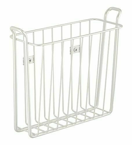 interdesign classico wall mount newspaper and magazine rack for bathroom white for sale online ebay