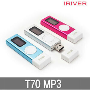 Genuine Iriver T70 Portable MP3 Player Built in USB Voice Recording 2Way - 8GB   eBay