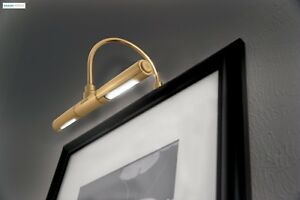 details zu led picture frame light battery operated wall art lamp artwork diploma lighting