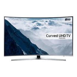 "TV LED Samsung Smart UE55KU6670 Ultra HD 4K Curvo 55"" Televisore"