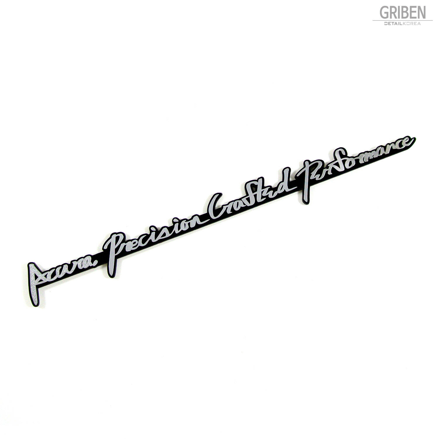Griben Car Emblem Metal Chrome Badge For Honda Acura