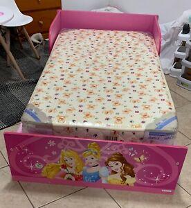 details about disney princess toddler bed love n care mattress