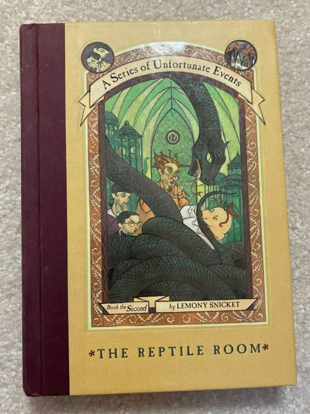 A Series of Unfortunate Events Ser.: The Reptile Room by Lemony