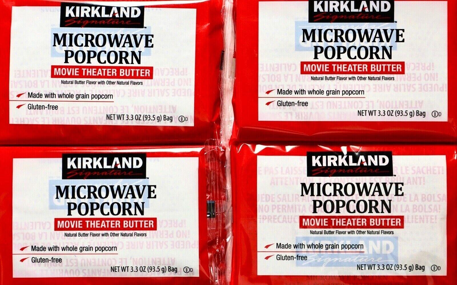 popcorn 44 bags 3 3 oz kirkland microwave movie theater butter