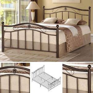 Queen Metal Bed Frame Bedroom Furniture Headboard