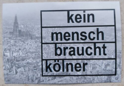 sport 10cm x 7cm leverkusen stickers gladbach 100 anti koln aufkleber dusseldorf reclub
