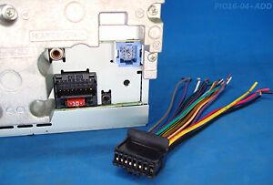Pioneer Radio Plug Stereo Harness Avh X Bt P Bh