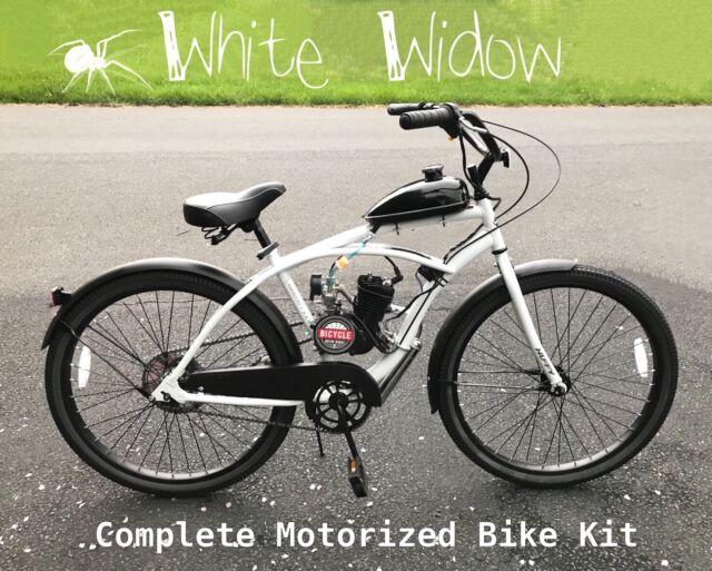 Ruff Rider Motorized 66cc Engine Amp Retro Cruiser Bicycle