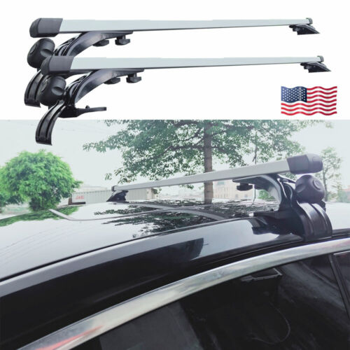 auto parts accessories 48 inch car top cross bar roof rack ski carrier fit for honda accord 1988 2016 motors