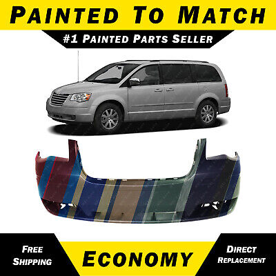 new painted to match front bumper cover for 2008 2010 chrysler town and country ebay