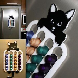 details about cat nespresso coffee pod holder coffee pod rack capsule dispenser stand display