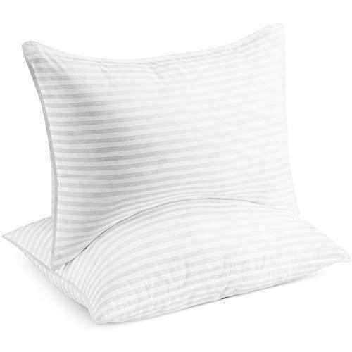 beckham luxury linens hotel collection gel pillow luxury plush queen 2 pack for sale online ebay