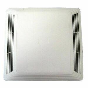 details about broan fan cover grille w spring 676 684 bath ventilation vent exhaust 97013576