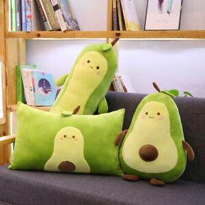 details about large avocado plush pillow stuffed toy home decor throw cushion cute gifts kids