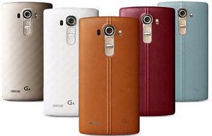 "LG G4 Dual Sim H818 32GB (FACTORY UNLOCKED) 5.5"" QHD , 3GB RAM - Choose a Color"