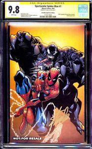 SPECTACULAR SPIDER-MAN #1 CGC 9.8 SS Stan Lee CANDADIAN COMIC EXPO ERROR VENOM