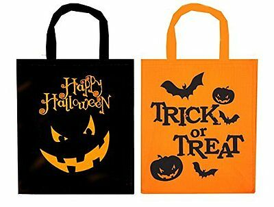 Fabric Treat Bags For Halloween Trick Or Treat Bags Kids Pack Of 2 4 6 8 10 Ebay