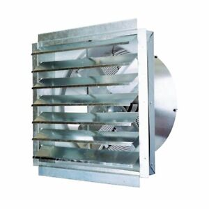 details about ventamatic if30 30 inch 5 500 cfm heavy duty industrial exhaust fan with shutter