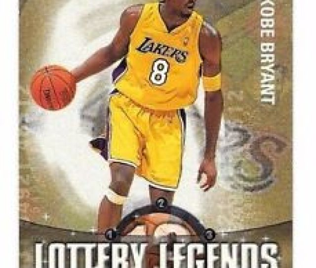 Image Is Loading 2001 02 Topps Lottery Legends Kobe Bryant