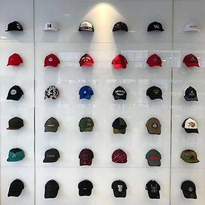 baseball cap display wall mounted hat rack baseball cap storage great for 12 91183100120 ebay