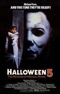 halloween movie posters 27x40