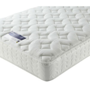 Image Is Loading Silentnight Clara Miracoil Memory Foam Quilted Hypoallergenic Mattress