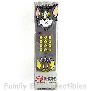 TOM & JERRY~1995 CGI~Soft Phone~Landline Telephone~NEW BUT ...