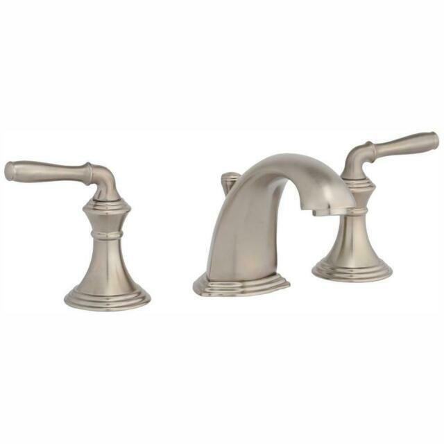 kohler devonshire widespread bathroom sink faucet vibrant brushed nickel