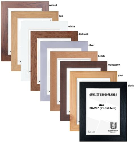 36x24 inch wood effect maxi poster frames new frames with various colors sizes frames home garden