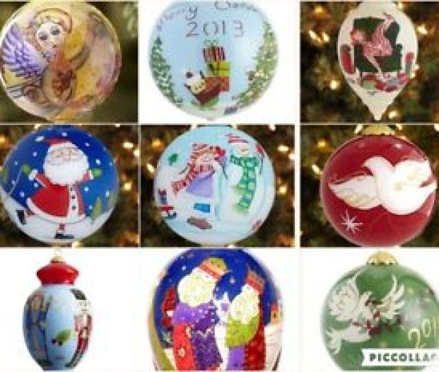 Image Is Loading Li Bien Glass Christmas Ornament Unique Ornaments Hand