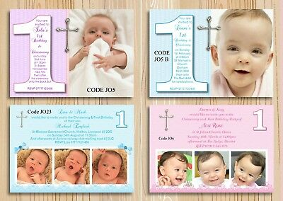 celebrations occasions free envelopes girl boy joint christening first birthday invitations cards home furniture diy new times bg
