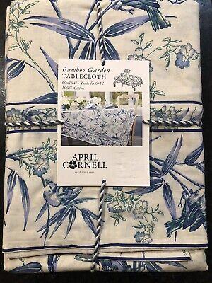 new april cornell bamboo garden 60 x 104 tablecloth ebay
