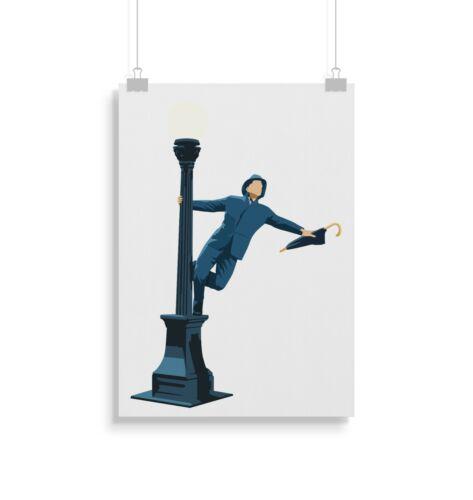 gifts singing in the rain poster wall art prints gift posters print kunst scribeemr antiquitaten kunst
