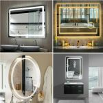 Decoraport 48 Inch 24 Inch Horizontal Led Wall Mounted Lighted Vanity Bathroom For Sale Online Ebay
