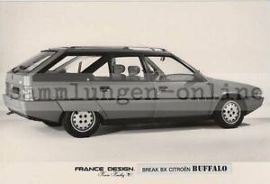 Citroen Break Bx Buffalo France Design Press Photo Photography Car Photo
