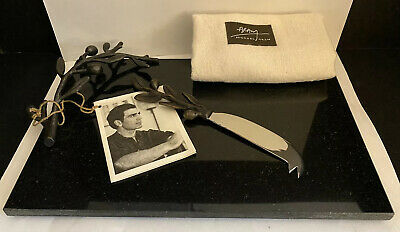 Michael Aram Marble Branch Cheese Board W Knife New With ...