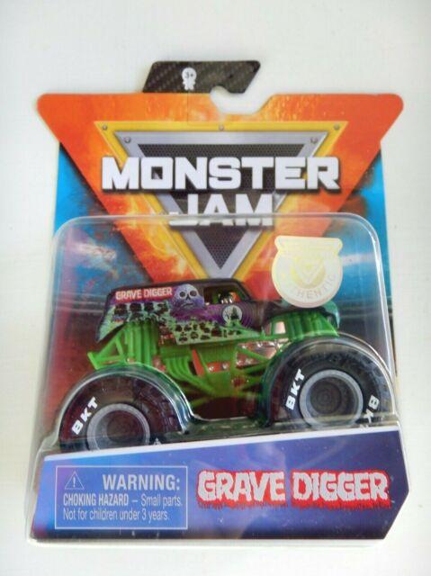 2020 spin master monster jam mix 9 grave digger legacy trucks 1 64