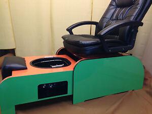 Pedicure Chair Amp Footsie Bath Tub No Plumbing 10 Liners EBay