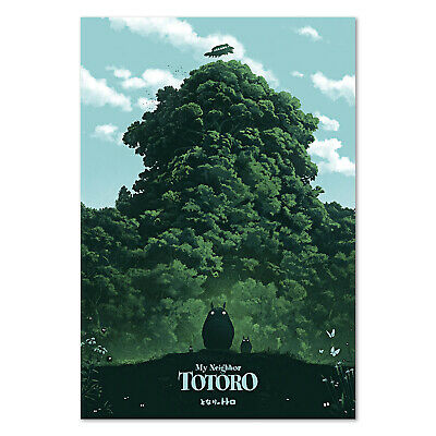 mein nachbar totoro poster studio ghibli anime kunst hochwertige prints ebay