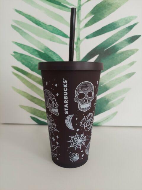 The united states customary cup holds 8 fluid ounces. Starbucks Halloween Skull Tumbler 2019 Plum/Purple Rare | eBay