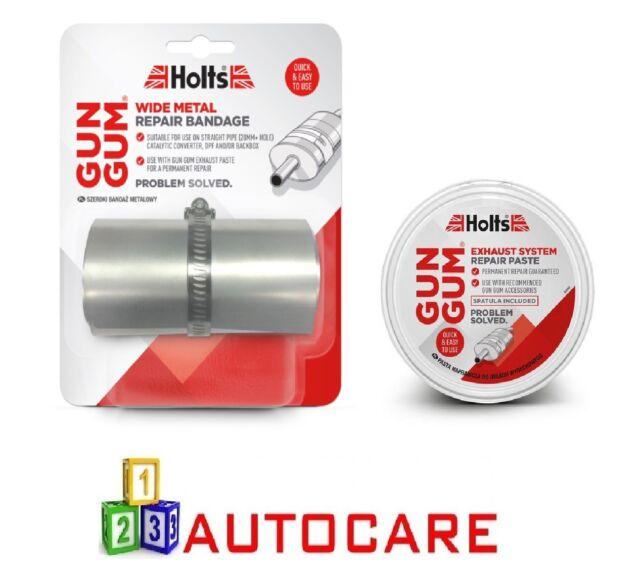 holts exhaust repair kit metal bandage repair paste hl1r6