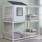 Heavy Metal Twin Over Twin Bunk Bed Pewter Ab931538 For Sale Online Ebay