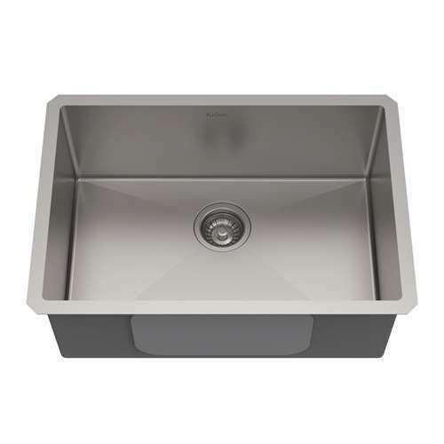 kraus khu100 26 26 inch undermount single bowl sink stainless steel for sale online ebay