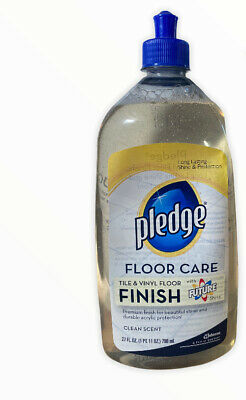 sc johnson pledge with future shine floor care multi surface finish 27 oz htf ebay