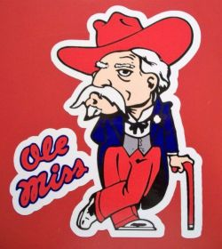 Ole Miss's old mascot