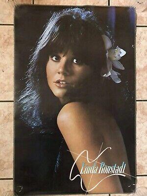 vintage linda ronstadt poster 1977 star city inc ebay