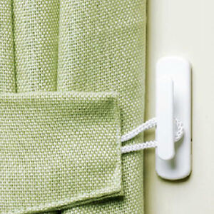 details about self adhesive wall door curtain tie back hooks stick on sticky tassel holders