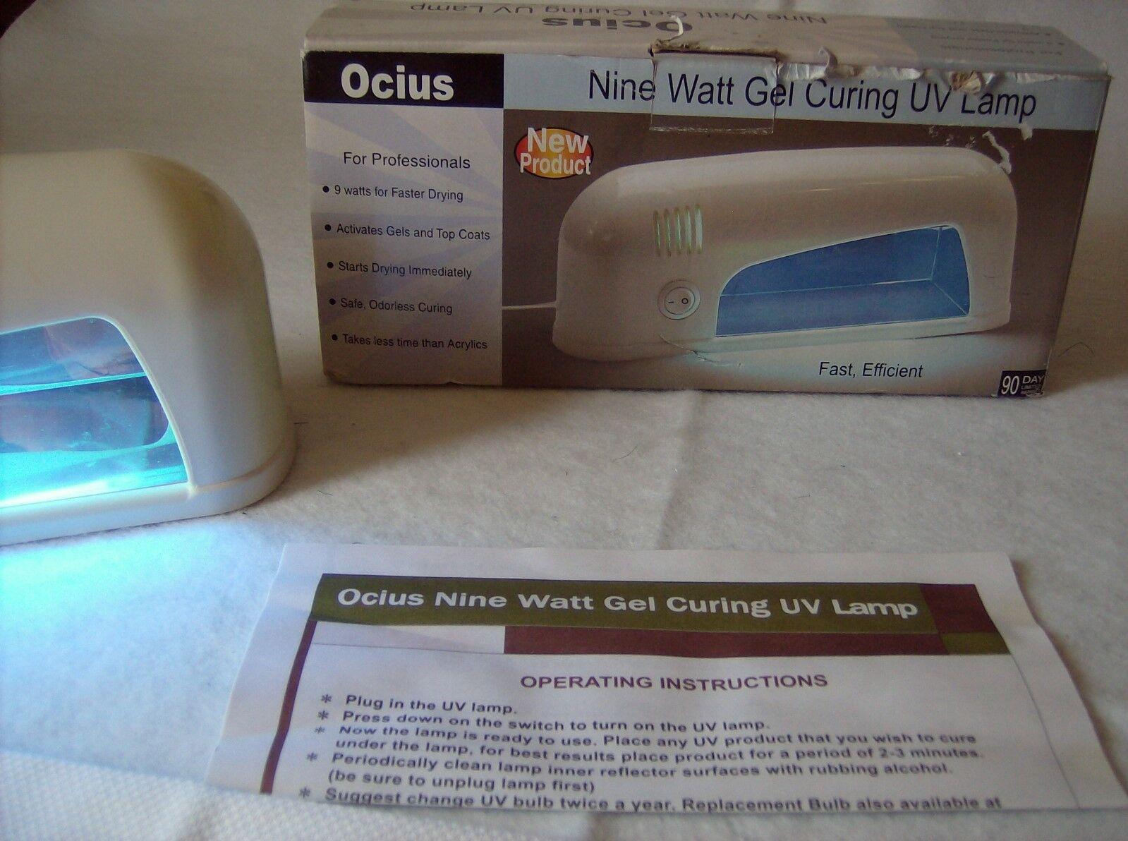 Ocius Nine Watt Gel Curing Uv Lamp Tiendamia Com