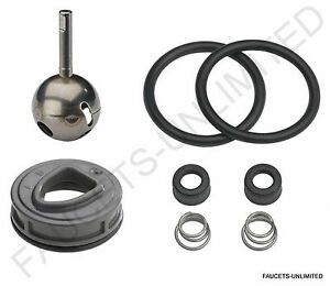 details about genuine delta kitchen faucet repair kit ball seats springs o rings cam new